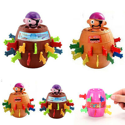 Kids Super Pop Up Toy Jumping Pirate Board Game Lucky Funny Tricky Toy Family