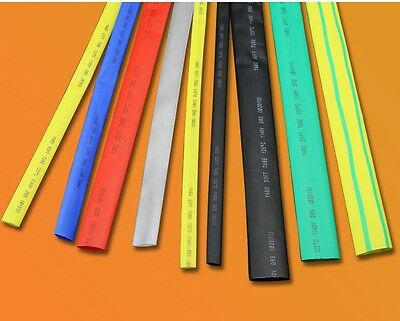 Φ15mm Sleeving Cable 2:1 Heat Shrink Tubing Electrical Wrap Tube 7 Colors 1-20M