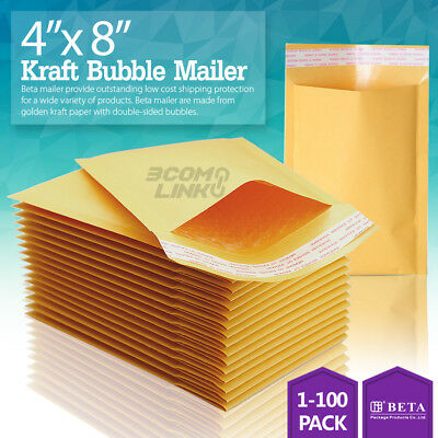SuperPackage® 10 #2  8.5 X 12  Kraft Bubble Mailers Padded Envelopes 10KB#2
