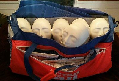 Actar 911 Patrol Squadron Adult CPR Manikins 6 Pack