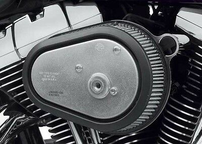 Genuine Screamin Eagle Teardrop Stage 1 Air Cleaner Kit - Chrome for Dyna