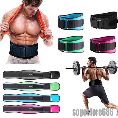 Power Weight Lifting Belts Belt Lumbar Support Heavy Duty Gym Fitness Training