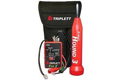 Triplett 3399 Cable Tracer Fox and Hound Wire Tracing Kit w/ Carrying Case
