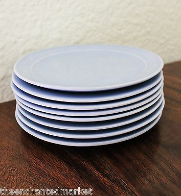 """Taylor Smith & Taylor LURAY PASTELS Blue 6 3/8"""" Bread Butter Plate (Set of 8)"""