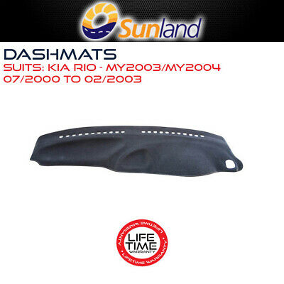 Dashmat For Kia Rio - My2003/my2004 07/2000-02/2003 Dash Mat