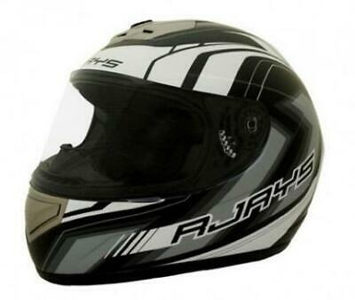 Rjays Apex Ii Helmet Matt Black/white