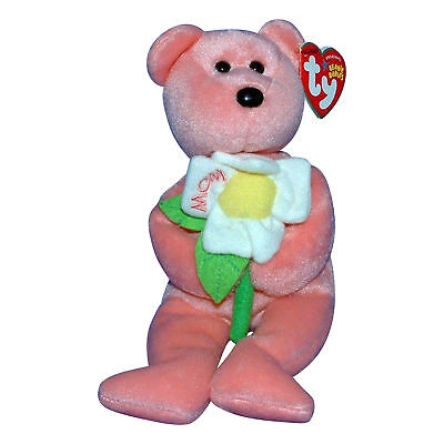 Ty Beanie Baby Dearly - MWMT (Hallmark Exclusive Mothers Day 2005)