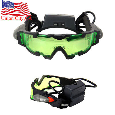 Night Vision Goggles Pacific Stealth Eye Protect Child shield Green Lens Glasses