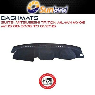 Dashmat For Mitsubishi Triton - Ml/mn My06 - My15 08/2006-01/2015 Dash Mat