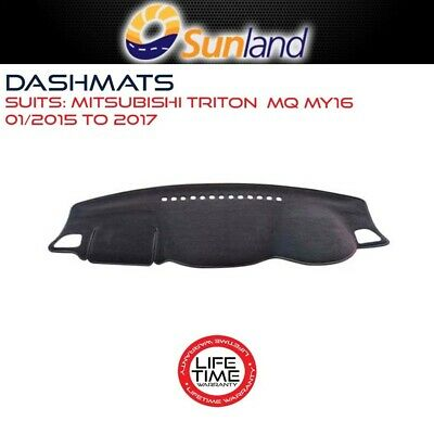 Dashmat For Mitsubishi Triton - Mq My16 01/2015-2017 Dash Mat