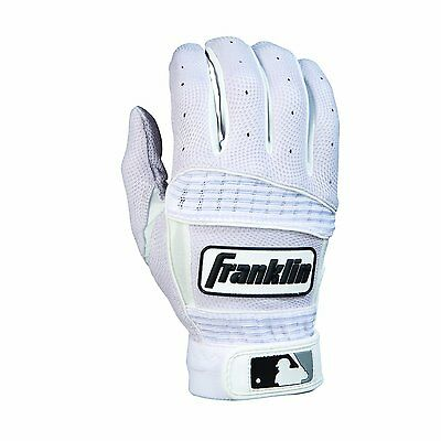 Franklin Sports Neo Classic Series Batting Gloves Pearl White X Large Flexible