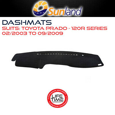 Dashmat For Toyota Prado - 120R Series 02/2003-09/2009 Dash Mat