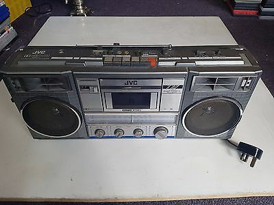 JVC RC-770LB Radio Cassette Vintage Boombox, Tested, Trusted Ebay Shop