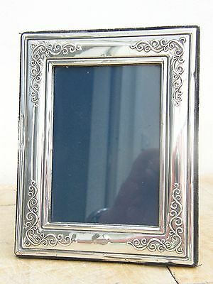 """A Hallmarked Ornate Solid Silver Photo Picture Frame Sheffield 1992 7"""" X 5.5"""""""