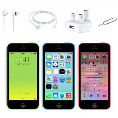 SAMRTPHONE APPLE IPHONE 5C 8gb 16 32GB FACTORY UNLOCKED BRAND NEW SIM FREE
