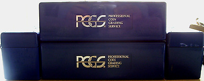 PCGS Plastic Storage Box / Case For PCGS Certified Slabs / Coins Slightly Used