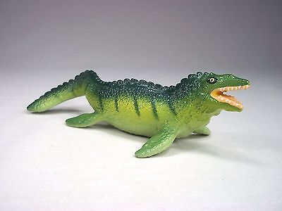 "Retired 1991 Mosasaurus 5"" Safari Ltd. Carnegie Collection Dinosaur Toy Figure"