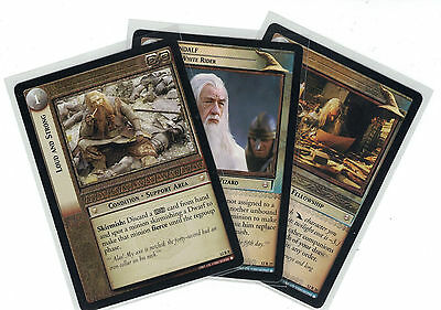 Lord of the Rings CCG Black Rider: 3x Rare Cards   freie Auswahl    Lot