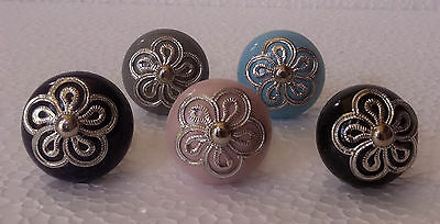 Ceramic Door Knobs Cabinet Drawer Wardrobe Cupboard Kitchen Pull Handle Lotof 10