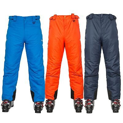 Trespass Bezzy Mens Ski Pants Waterproof Snowboarding Salopettes