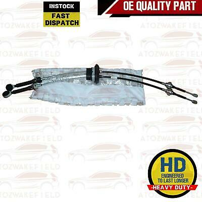 For Peugeot Boxer Fiat Ducato Relay Gear Lever Selector Linkage Cable Pair Set