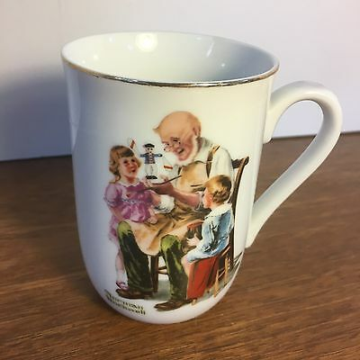 Norman Rockwell Museum THE TOYMAKER Mug 1982
