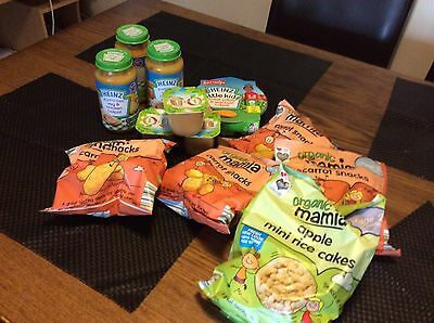 Bundle Joblot Of Baby Toddler Food New