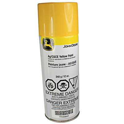 John Deere Original Equipment Yellow Spray Paint #TY25641