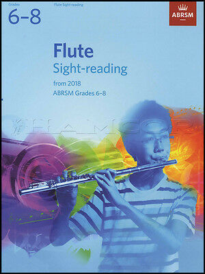 Flute Sight Reading from 2018 ABRSM Grades 6-8 Sheet Music Book