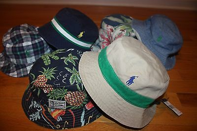 a829f7c8 New with Tags Polo Ralph Lauren Reversible Bucket Hat Golf Fishing Beach