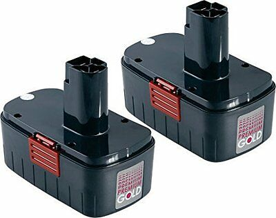 Craftsman 1323414 Replacement Battery Set of: 2 x TOOL-246 Batteries
