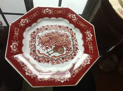 Vintage Japanese  Octagonal Decoration Wall Plate