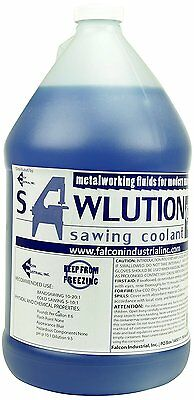 SAWLUTION. SAWLLUTION PREMIUM SAWING COOLANT,   4x1 GALLON JUGS