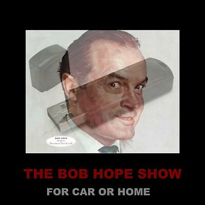 Bob Hope Show. Enjoy 225 Old Time Radio Comedy Shows While Driving Or At Home!