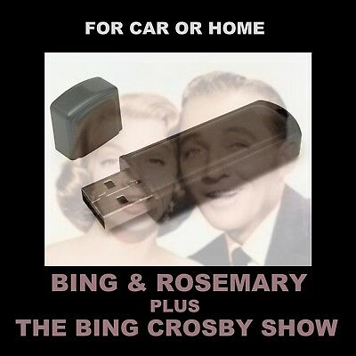 Bing Crosby / Rose Clooney. Enjoy 732 Old-Time Radio Shows In Your Car Or Home!