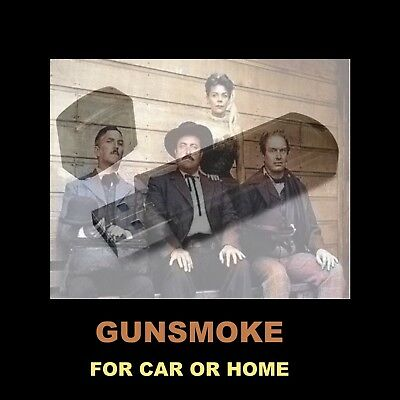 Gunsmoke Flash Drive. 512 Old-Time Radio Adult Westerns For Car Or Home!