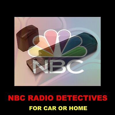 Enjoy Nbc's Best Old Time Radio Detectives In Your Car Or Home. 666 Shows!