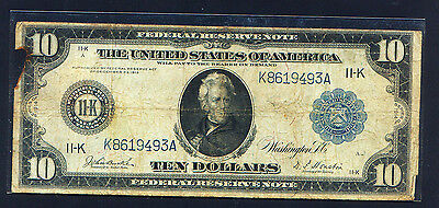 1914 $10 Frn ** Dallas ** Frn
