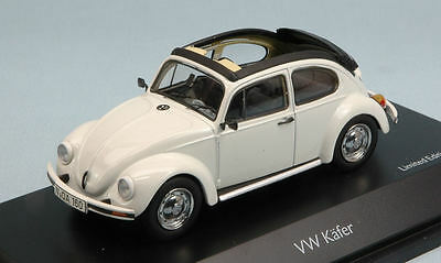 Volkswagen VW Kafer Open Air White 1:43 Model 3879 SCHUCO