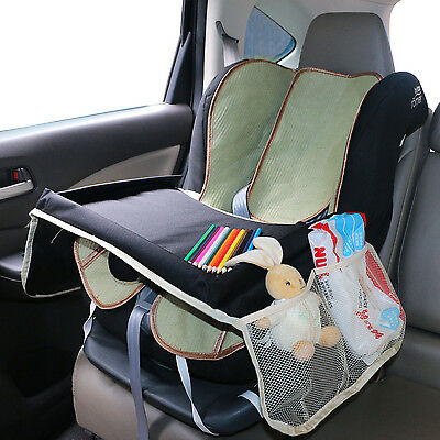Portable Toddler Kids Car Safety Seat Food Snack Play Drawing Board Table Tray