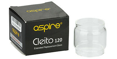 2pcs Original Aspire Pyrex Glass for Cleito 120 4ml,  5ml