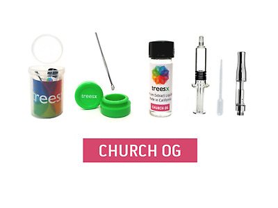 TreesX: Church OG Mix Kit - Herbal Wax, Dab, Shatter Liquidizer