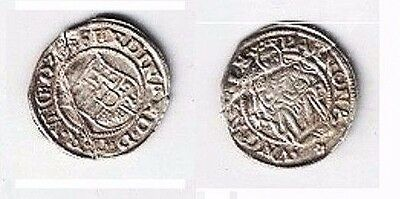 SILVER COIN - Europe's Medieval Kingdoms - HUNGARY 16thC - King @ Lot C