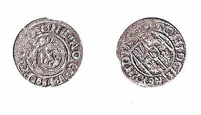 SILVER COINS of Europe's Medieval Kingdoms - POLAND 1500's -- Lot C -------LOOK