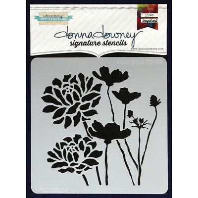NEW Donna Downey Signature Series Stencils - Bloom Group