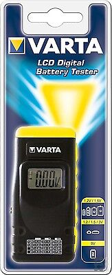 Varta LCD Digital Batterietester