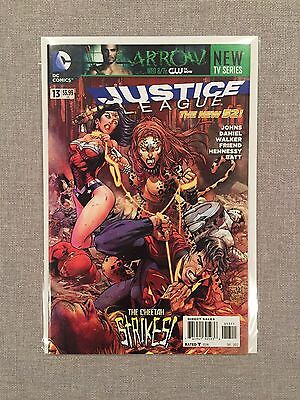 Justice League #13 First Printing NM+ New 52 DC Comics