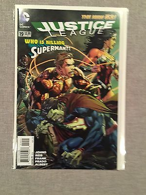 Justice League #19 First Printing NM+ New 52 DC Comics