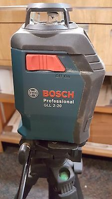 Bosch Professional Gll 2-20 Self Leveling Laser With Tripod