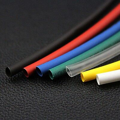 Φ1.5mm 2:1 Heat Shrink Tubing Electrical Wrap Tube Sleeving Cable 7 Colors 1-20M